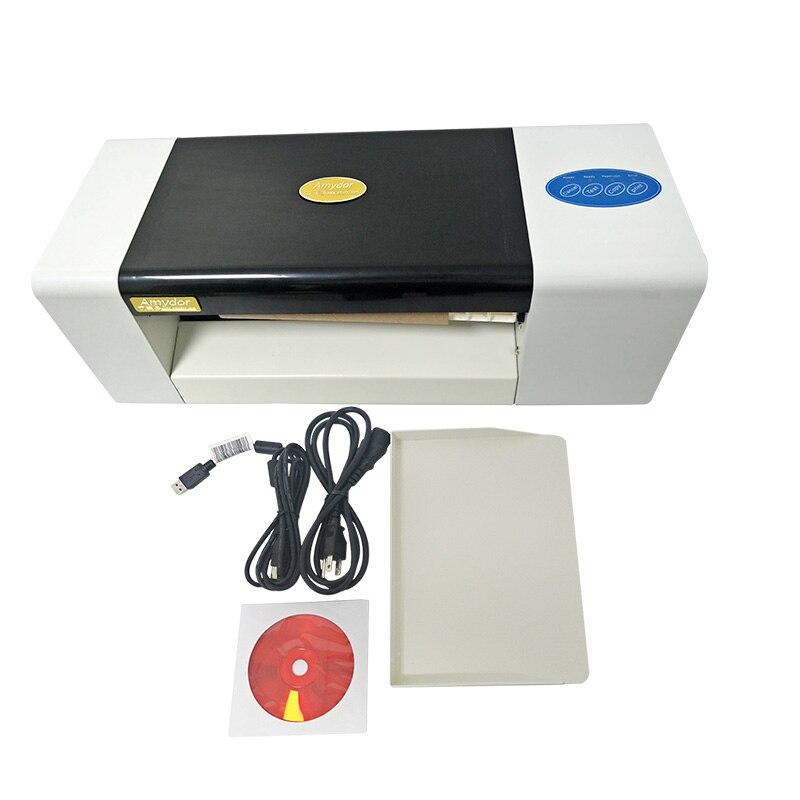 LY 400A фольга пресс машина цифровая Горячая фольга тиснения принтер машина для цветной печати визитных карточек