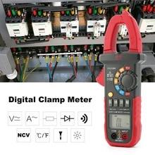 Handheld Digital Clamp Meter Multimeter AC/DC Volt Ohm Temp Current Voltage NCV Tester Resistance Ammeter Multitester цена 2017