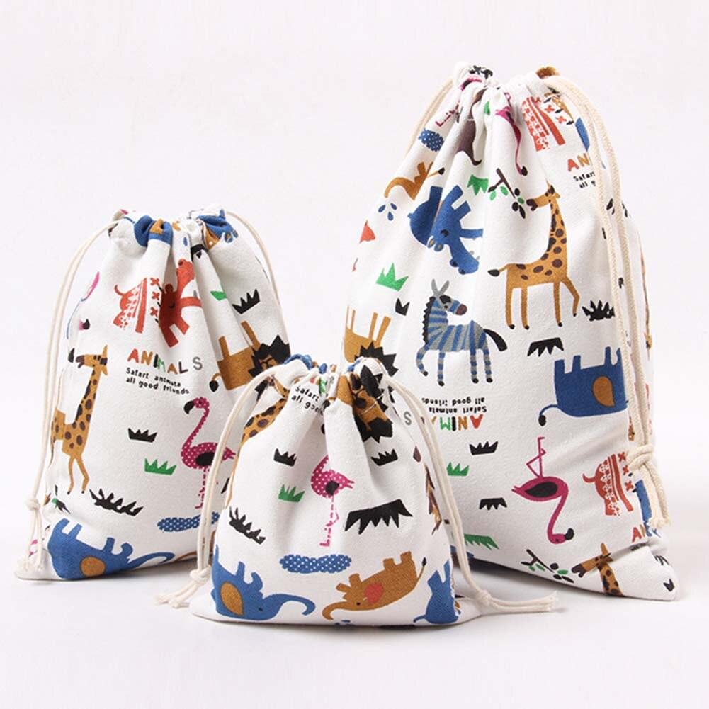 Neue Mode Wasserdichte Kordelzug 3d Digitaldruck Polyester Für Kinder Mit Niedlichen Muster Rucksack PüNktliches Timing