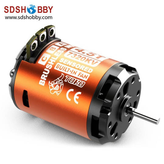 ФОТО KV3250/4000/5150/6050/7320 ARES Toro Sensored Inrunner Brushless Motor for 1/10 Car