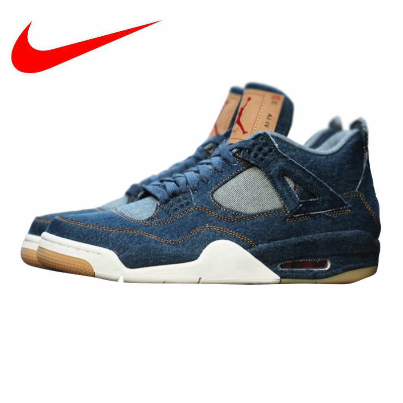 3fbba6d88dc Detail Feedback Questions about Nike Levi X Air Jordan 4 Men ...