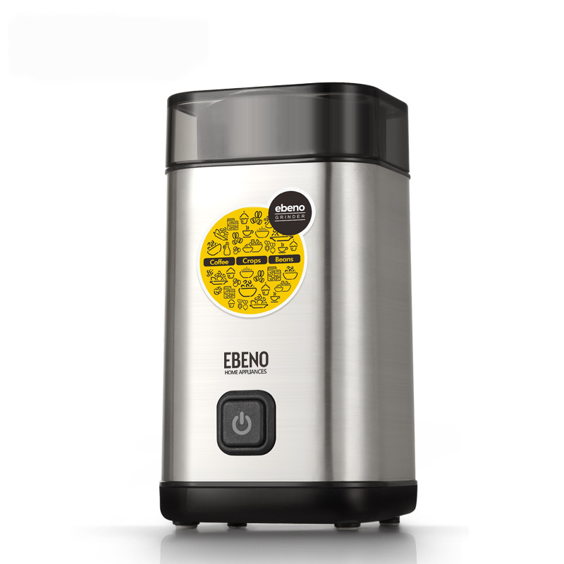Electric Coffee Grinder Spice Maker Stainless Steel Blades Coffee Beans Mill Herbs Nuts Cafe Home Kitchen Small Coffee MachineElectric Coffee Grinder Spice Maker Stainless Steel Blades Coffee Beans Mill Herbs Nuts Cafe Home Kitchen Small Coffee Machine
