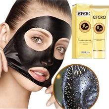 Nose Strips Black Mask Black Dots Blackhead Remover Face Care Face Mask Black Head Nose Mask Pore Strip Peel Off Mask Skin EFERO black mask купить в москве в магазине