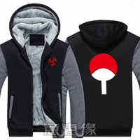 Neue Naruto Hoodies Anime Namikaze Minato Mit Kapuze Winter baumwolle Mäntel Jacken Männer Strickjacke Sweatshirts