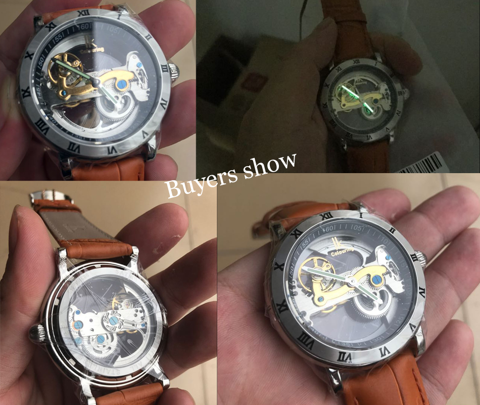 Oryginalne IK 2019 Tourbillon automatyczne mechaniczne zegarki męskie zegarek w całości ze stali nierdzewnej zegarek mody mężczyzna Relogios Masculino w Zegarki mechaniczne od Zegarki na  Grupa 3