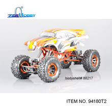 HSP HAMMER RC CAR ROCK CRAWLER 1/10 ELECTRIC 4WD OFF ROAD CRAWLER (item# 94180T2-88217)