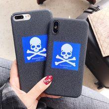 Hot nero mastermind japan Duro antiscivolo caso della copertura per il  iphone 6 6 S S plus 7 7 più 8 8 plus X Frosted casse del . 31f7c54ce4ef