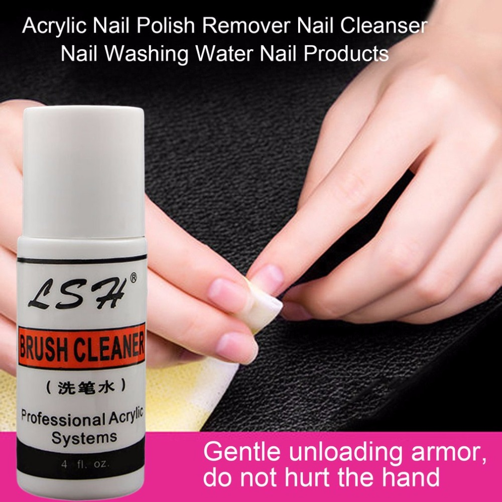 1 pcs Acrylic Nail Polish Remover Nail Cleanser Nail Washing Water ...