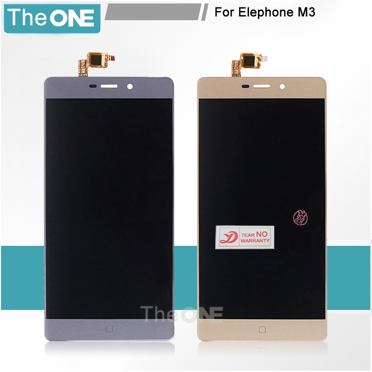 ФОТО Free DHL For Elephone M3 LCD Display+Touch Screen Screen Digitizer Assembly Replacement