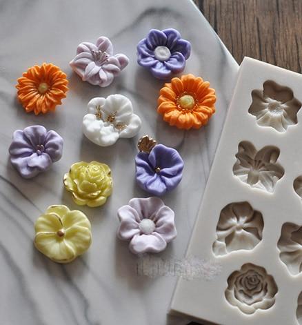 Silikon Form Falten Zucker Kuchen Dekoration Eine Vielzahl Von