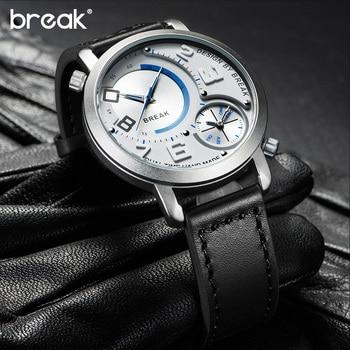 Sport Style Dual Time Zone Quartz Wristwatches 3