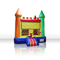 Free Shiping Jumping Bouncer House Inflatable Bouncer Castle Inflatable Slide Outdoor Inflatable Toy For Kids