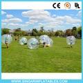Envío libre 0.8mm PVC 1.8 m de diámetro de la burbuja golpe de fútbol, bola de hámster humano, fútbol burbuja para grandes pesados jugadores