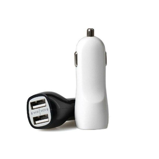 Adaptador de cargador de coche de 2 puertos USB para teléfono móvil inteligente July17 #2