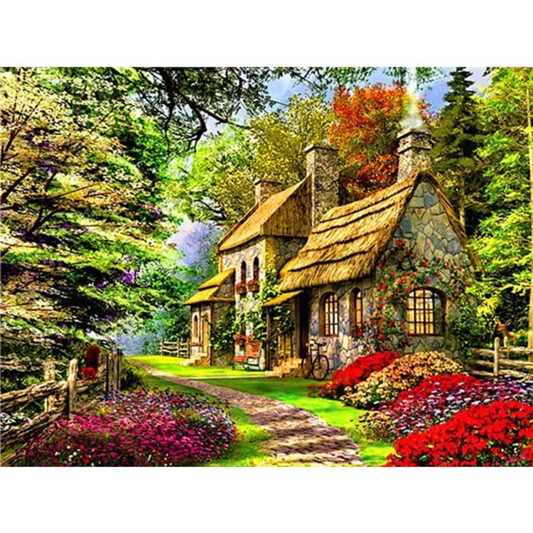 картинки с сказочными домами тихому просто