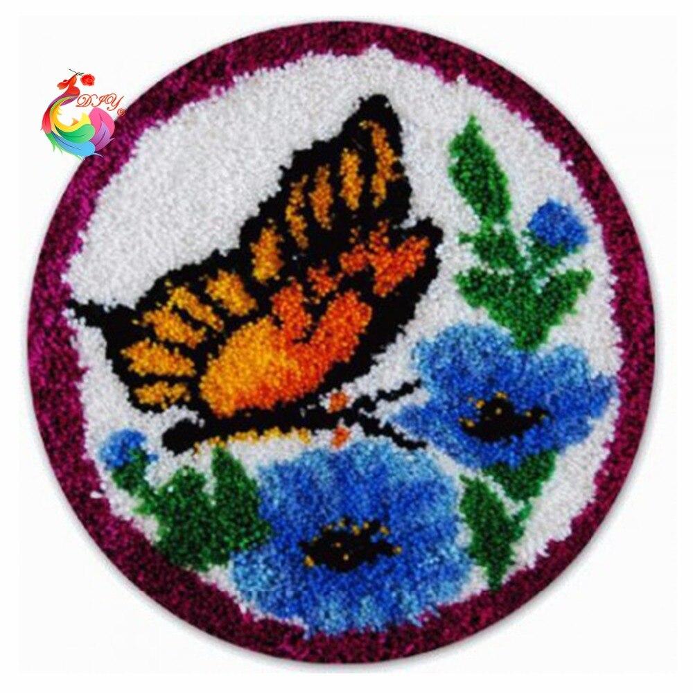 Szőnyeg-szőnyeg-szőnyeg-szőnyeg-szőnyeg szett készlet Horgolt - Művészet, kézművesség és varrás