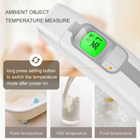 baby kids ear Forehead thermometer Infrared digital electronics Non Contact Body Fever Children high precision thermometer