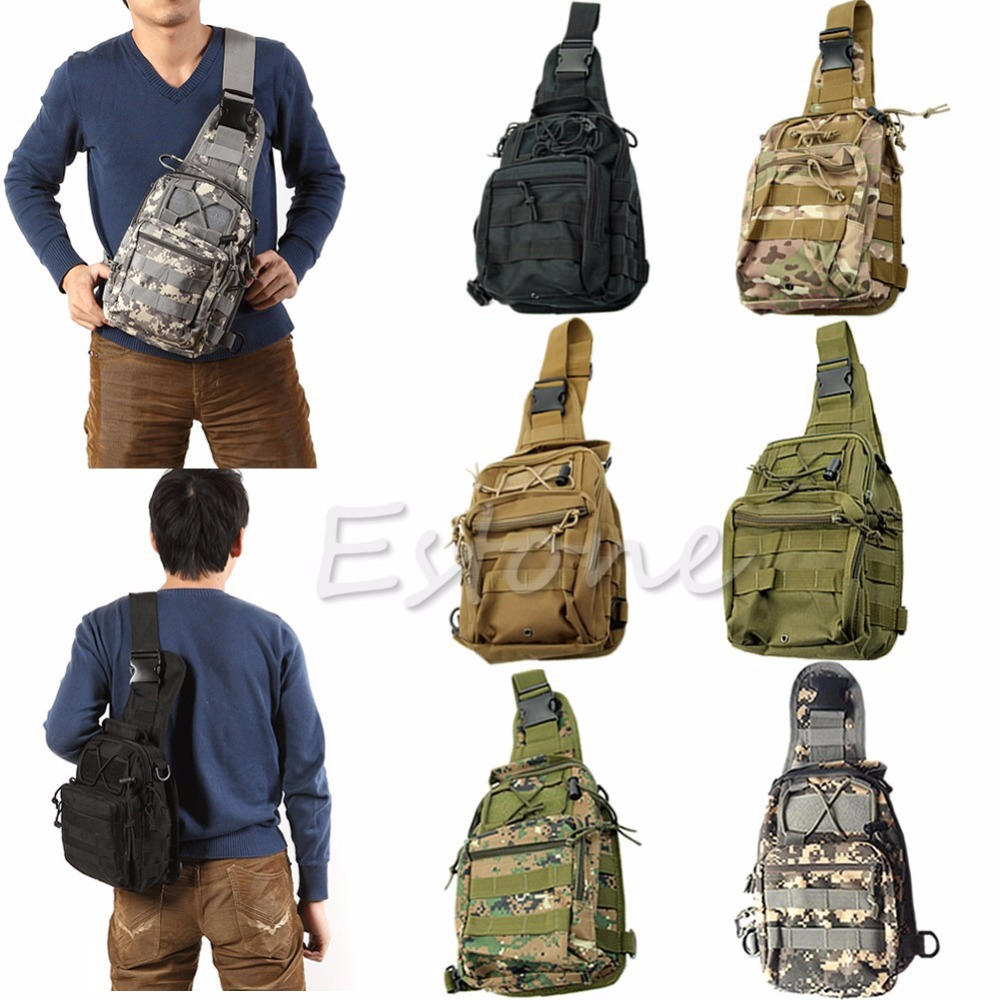 Outdoor Shoulder Military font b Tactical b font Backpack Camping Travel Hiking Trekking Bag