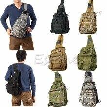 Hombro exterior que acampan tácticos militares mochila de viaje senderismo Trekking Bag