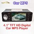 """4.1 """"дюймовый TFT HD Автомобильный MP5 Плеер Камеры Заднего вида 12 В FM Радио/Зарядное Устройство/MP3/MP4/Аудио/Видео/USB/SD/AUX 1 DIN"""