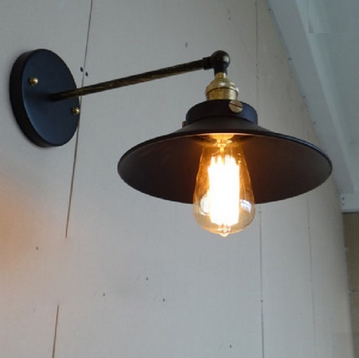 где купить Loft Style Iron Edison Wall Sconce Vintage Wall Light Fixtures For Home Antique Industrial Lamp Indoor Lighting Lampara Pared дешево