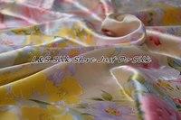 Шелк плоский лист 1 шт. шелк простыня 100% шелк тутового напечатаны comfortablestom полный королева король cal. king много размеров ls260724