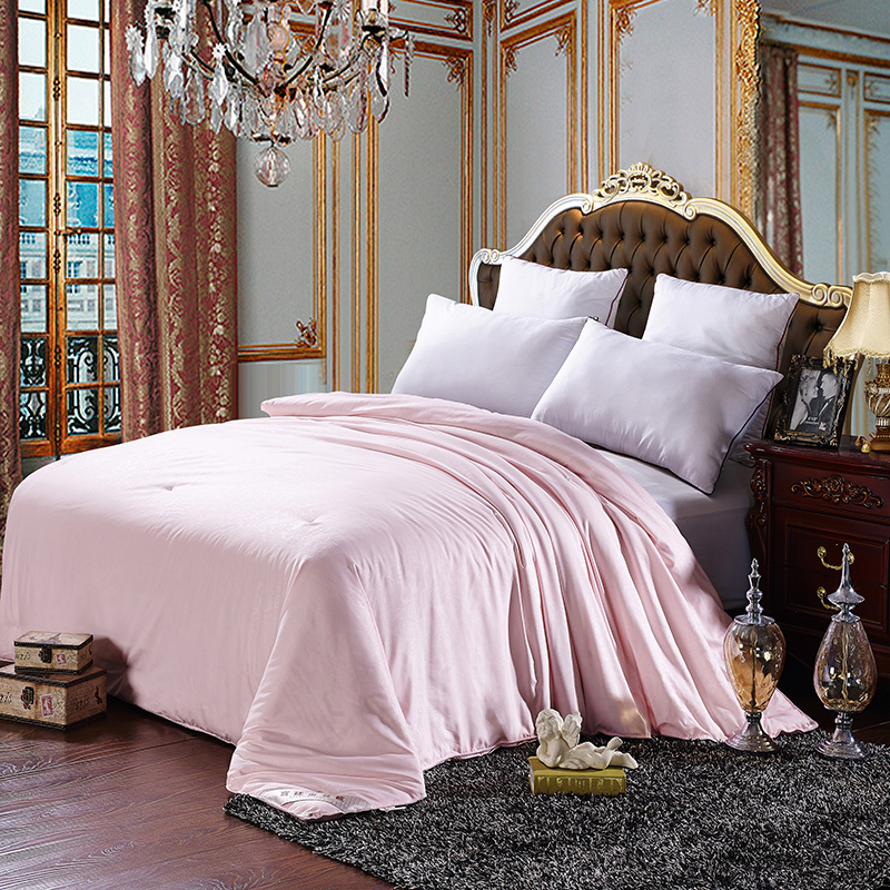 100% silk comforter/blanket/quilt/duvet for summer/winter mulberry silk king queen twin size bedding white/pink color yellow 100% silk comforter/blanket/quilt/duvet for summer/winter mulberry silk king queen twin size bedding white/pink color yellow