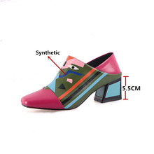 Synthetic Leather High Heels Shoes