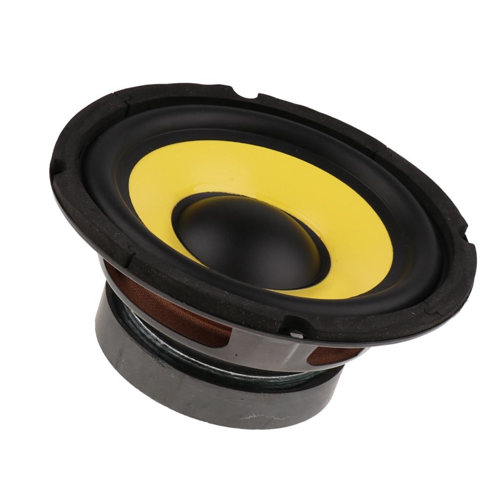 6.5' 50W Car Audio Stereo Horn Subwoofer Bass HIFI Speaker 4 Ohm Magnet 100