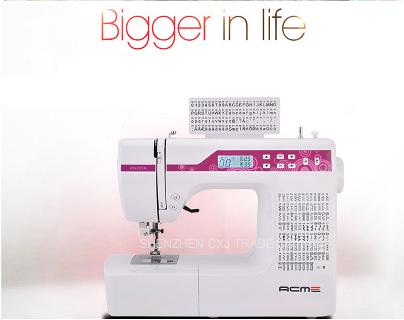 40A Household Multi Function Sewing Machine With Different 40 Simple How To Embroider Letters With Sewing Machine