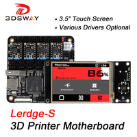 3DSWAY 3D Printer Motherboard Lerdge Board With Thermistor ARM 32 Bit Controller DIY Kit With 3
