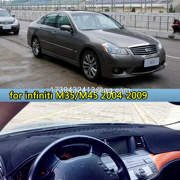 dashmats car styling accessories dashboard cover For Infiniti M35 ...