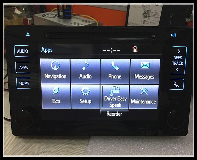 Фирменная новинка автомобильный dvd-навигации Радио Toyota Сенна 86100-08062 jbll Тип ЖК-модули для авто запасных Запчасти