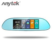 Anytek Vehicle Video 7 Inch LTPS 1080P HD 10 Million Pixel LED Display Rearview Mirror G