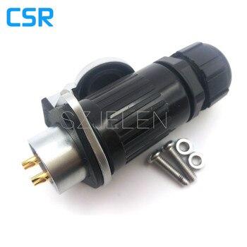 HP20, Промышленный разъем, 2-контактный электрооборудования Мощность панельный разъем, номинальный ток 25A, Электрический Мощность разъем