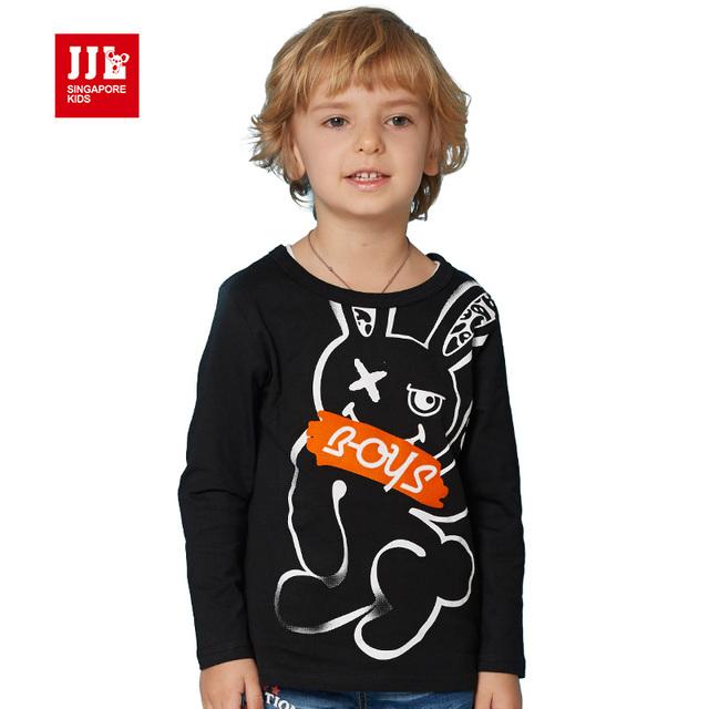 Meninos camiseta roupa dos miúdos engraçado impressão 100% t-shirt de algodão para marca meninos camiseta crianças meninos roupas t tops tamanho 4-11y