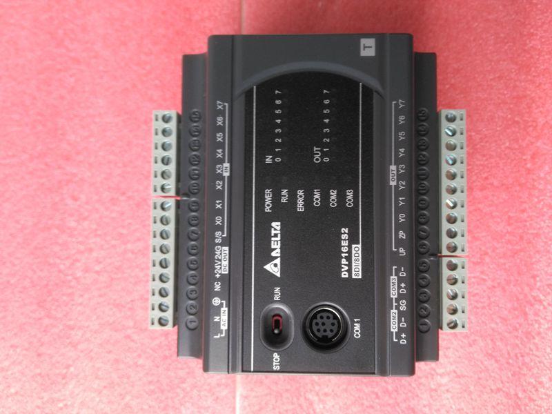 New Original DVP16ES200T Delta PLC ES2 series 100-240VAC 8DI 8DO Transistor output dvp32es200t delta new original plc es2 series 100 240vac 16di 16do transistor output