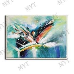 Nowoczesny nóż obraz olejny ręcznie malowane obrazy na ścianę abstrakcyjny obraz olejny do salonu home decor nie oprawione