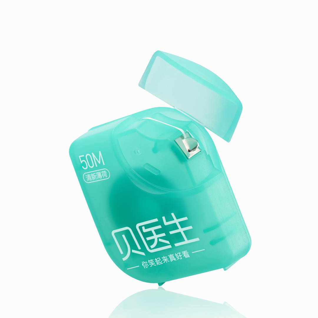 Image 3 - 3 Pack Xiaomi Portable 50M Dental Floss Flosser Tape Mint Flavor Interdental Brush Tooth Floss Pick Oral Hygiene Clean Wire-in Smart Remote Control from Consumer Electronics