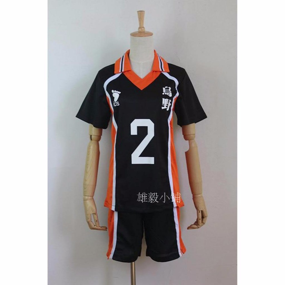 Image 3 - Haikyuu Cosplay Costume Karasuno High School Volleyball Club Hinata Shoyo Sportswear Jersey Uniformhaikyuu cosplaycosplay costumecosplay haikyuu -