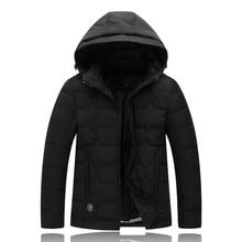 4XL-9XL Big Mens Size Winter Jacket 2017 Warm Coat Padded Thicken Parkas Brand Clothing Blouson Homme Camperas Hombre Abrigo W14