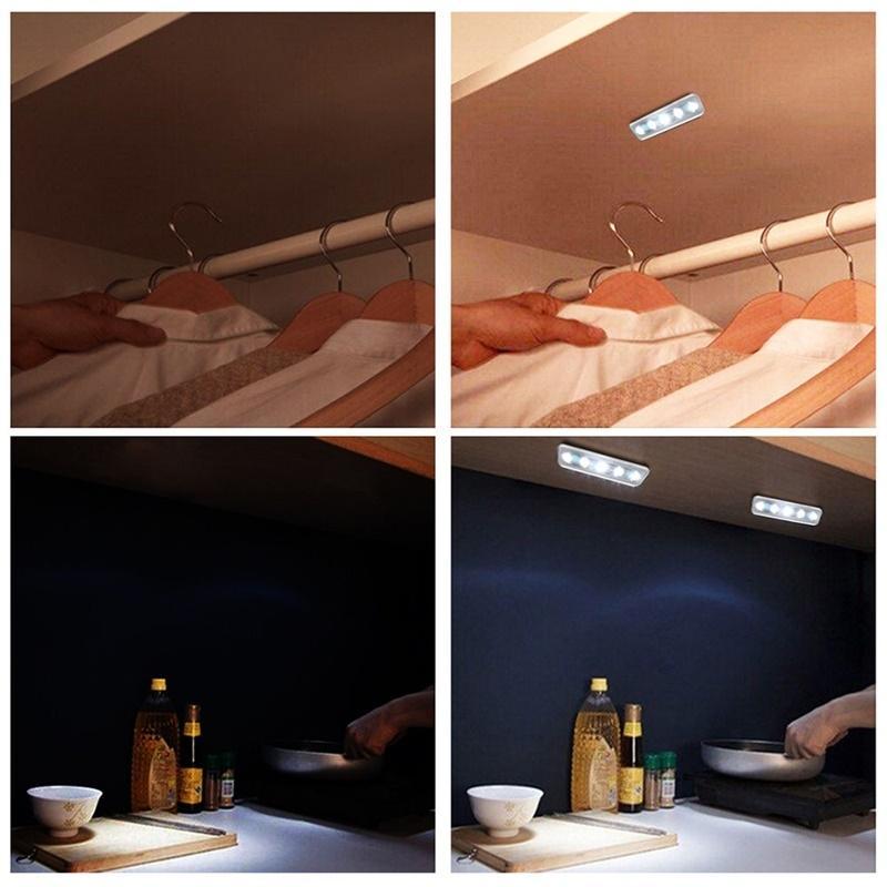 Luzes da Noite toque parede Size : 180*45*25mm