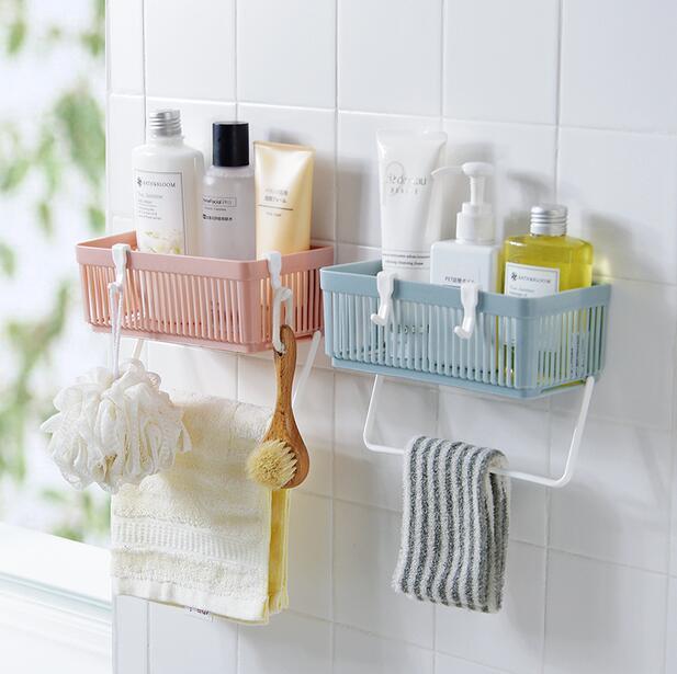 Bathroom Organizer Towel Rack Kitchen Storage Hanging Drain Basket In Holders Racks From Home Garden On Aliexpress Alibaba Group