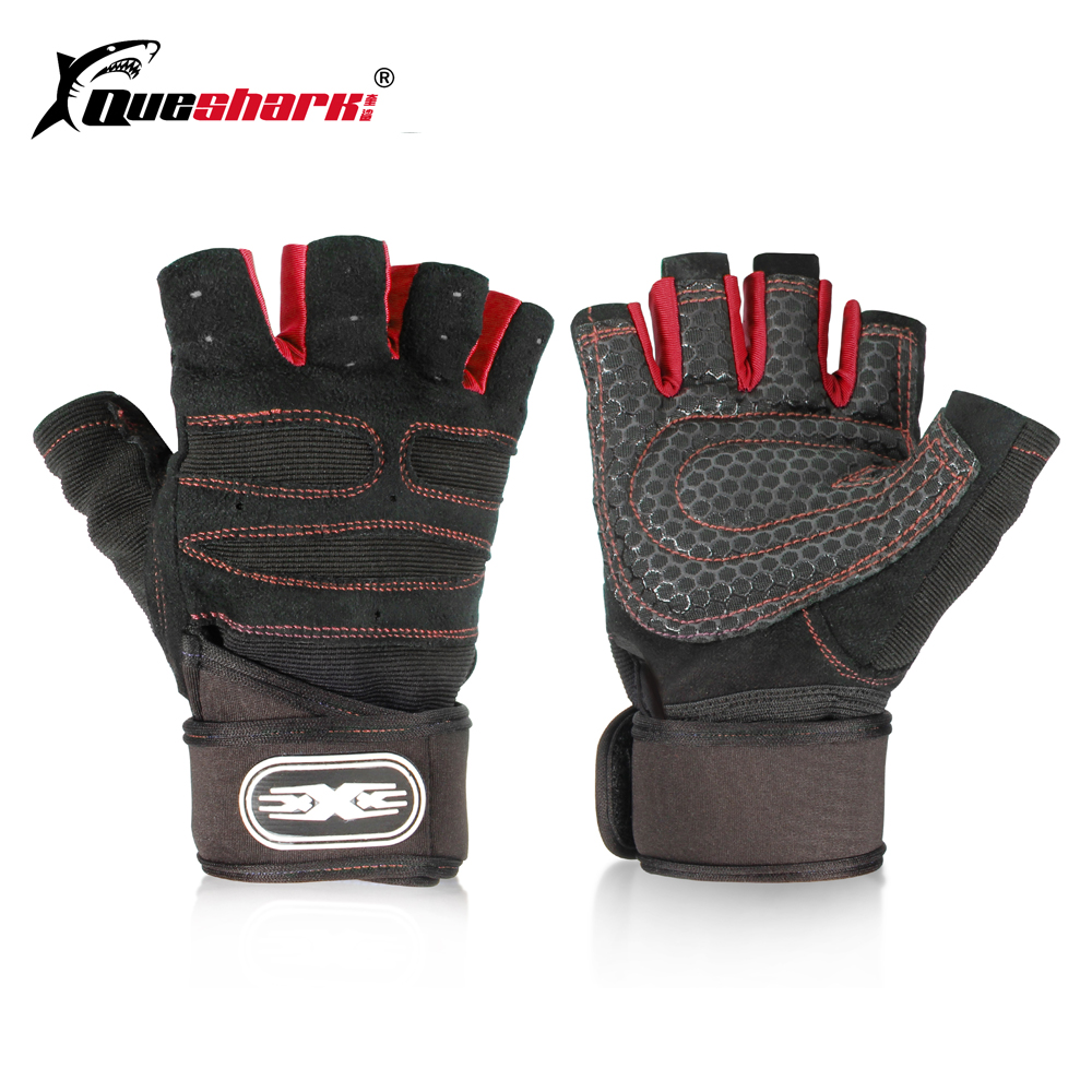 Women S Fitness Gloves With Wrist Support: Aliexpress.com : Buy Men Women Fitness Gloves Sports Anti
