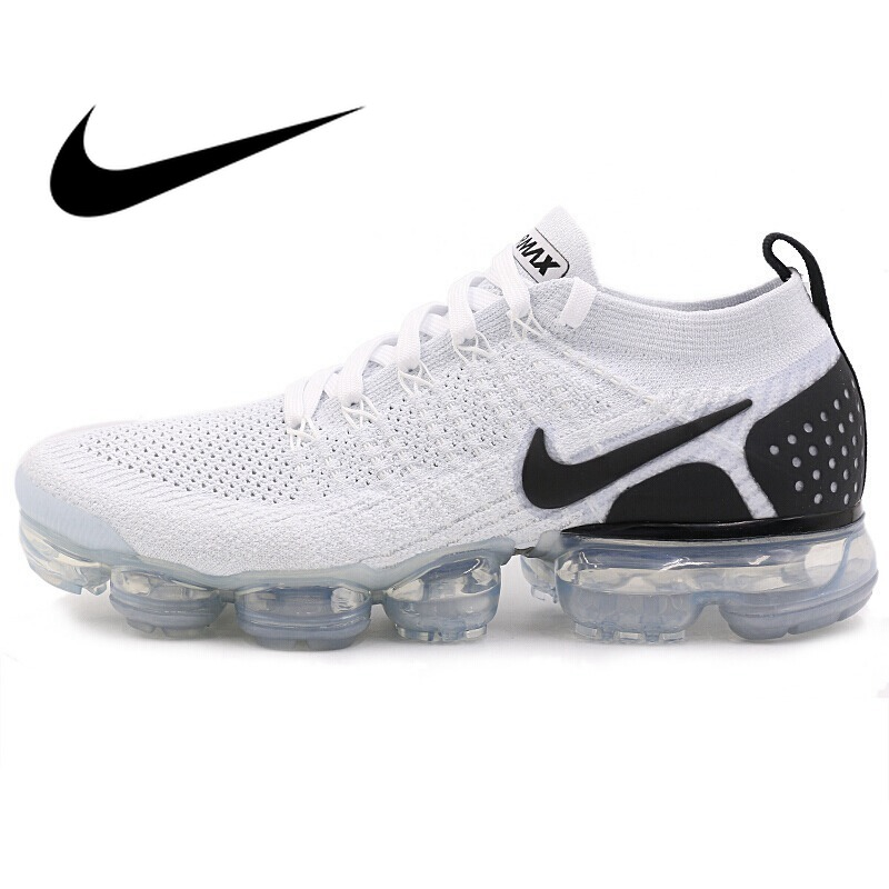 Original Authentic NIKE Air MAX Vapormax FK Men's Running Shoes Sneakers Lightweight Non slip comfortable durable Classic 942842