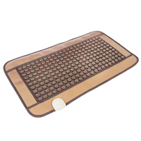 POP RELAX Jade Health heating tourmaline magnetic therapy flat massage mat PR C06A Germanium stone physiotherapy pad 45x80cm