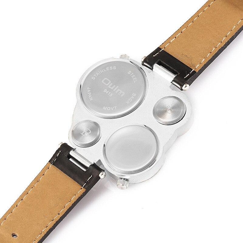 OULM 9415 Moda Relojes de Cuarzo Hombres Marca Original Cara Grande - Relojes para hombres - foto 3