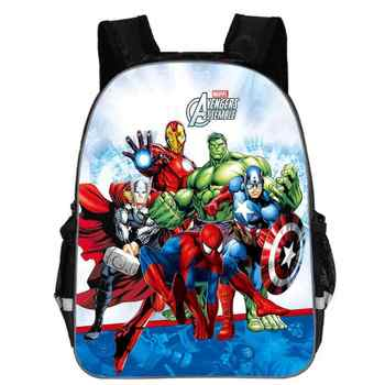 13 Inch Avengers Iron Man Backpacks Captain America Hulk Thor War School Bags Daily Travel Bag Boys Girls Double Shoulder Bags - DISCOUNT ITEM  42% OFF All Category