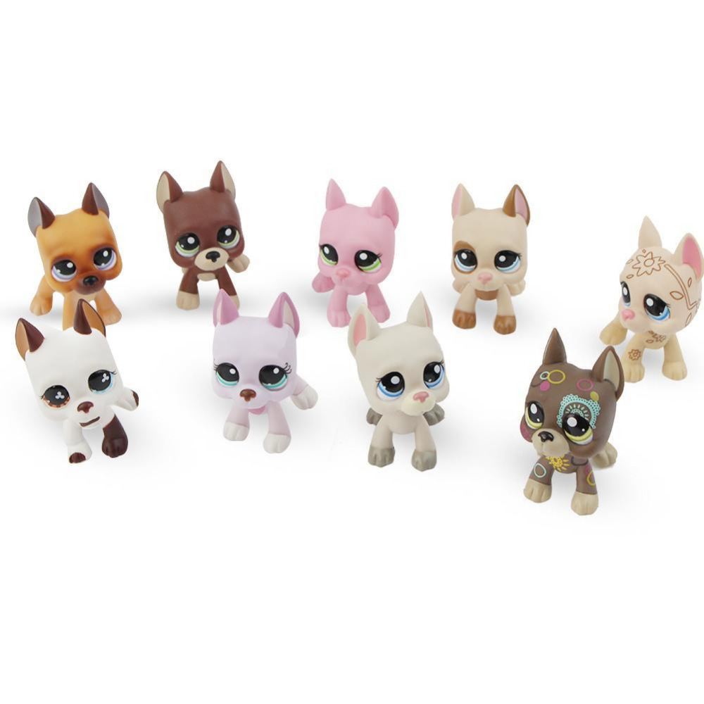 Cute Pet Rare Color Sausage Short Hair Dog Action Figure Girl's Collection Classic Anime Christmas Gift LPS Doll Kids Toys dainese action short 11 12
