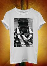 33c42e5ed74 ASAP Rocky Long Live Funny Hipster Cool Men Women Unisex T Shirt Top Vest 2  Summer 2018 Short Sleeve Plus Size